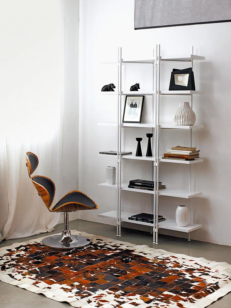Piccola libreria dal design moderno n.01
