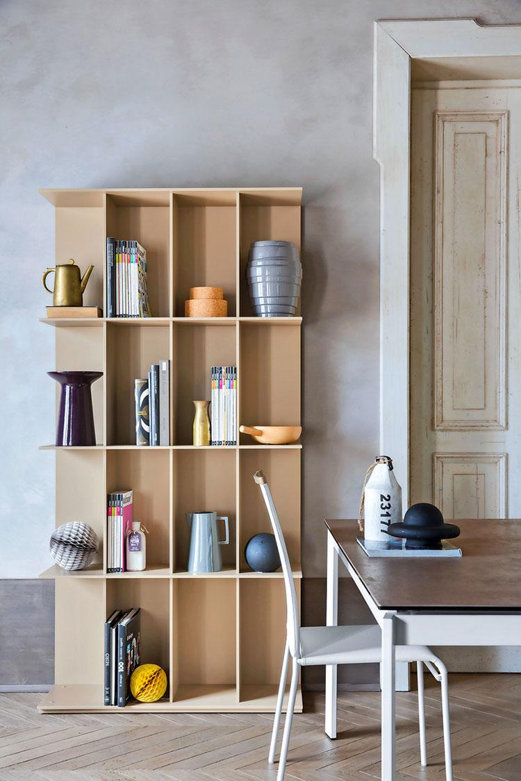 Piccola libreria dal design moderno n.02