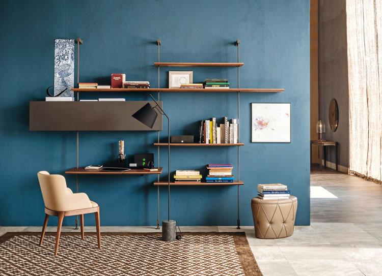 Piccola libreria dal design moderno n.03