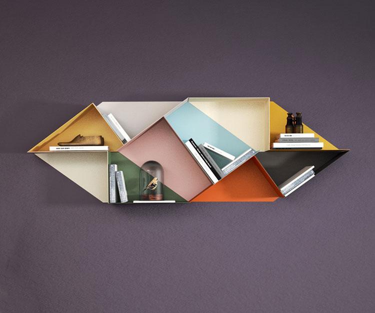 Piccola libreria dal design moderno n.04