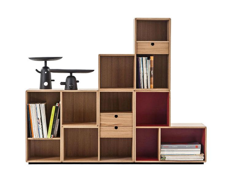 Piccola libreria dal design moderno n.06