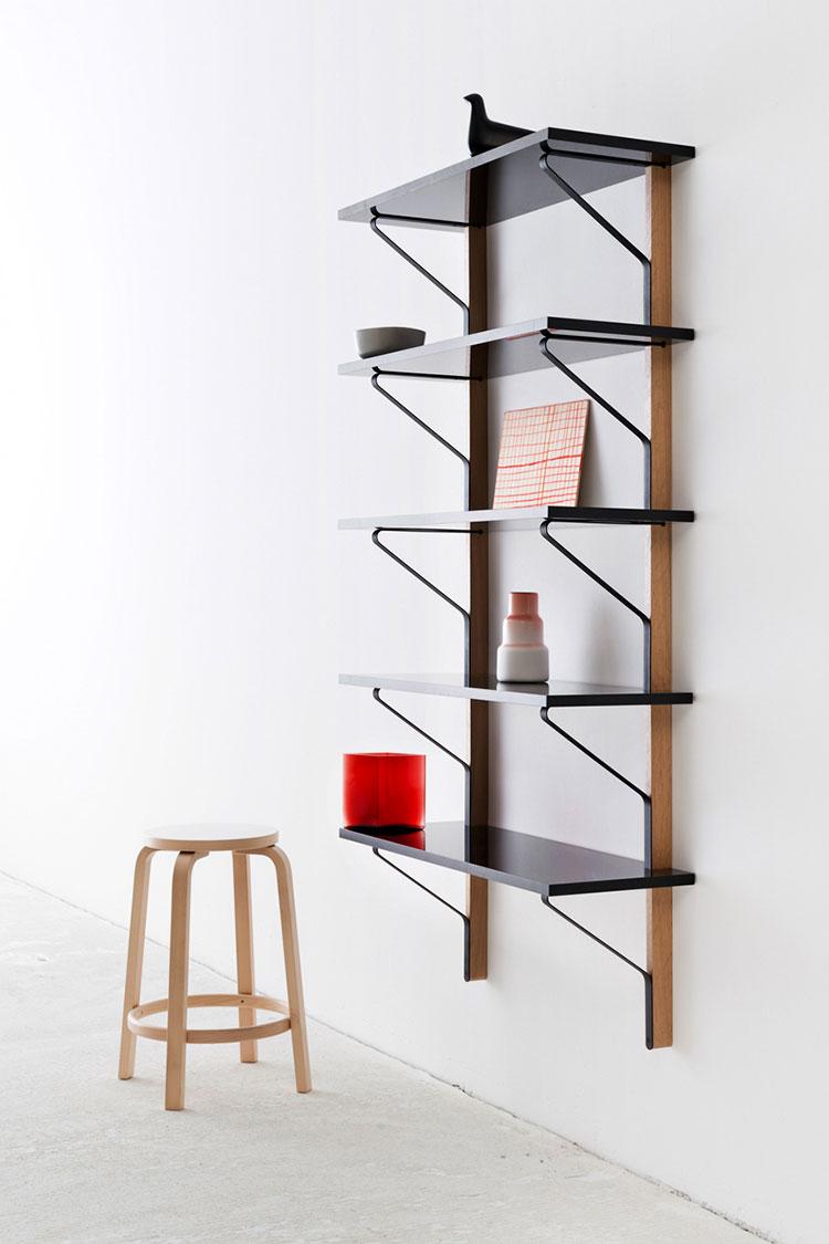 Piccola libreria dal design moderno n.07