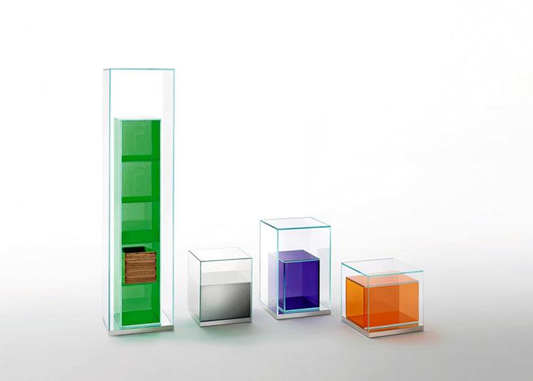 Piccola libreria dal design moderno n.08