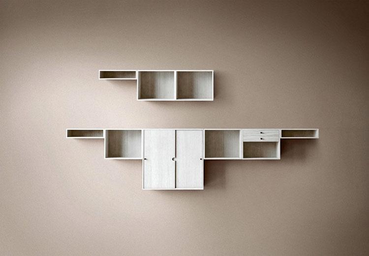 Piccola libreria dal design moderno n.10