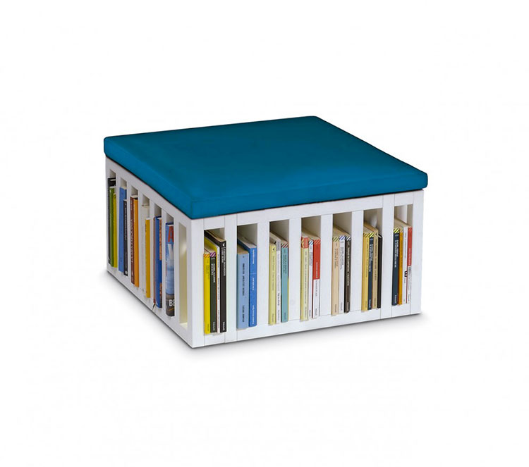 Piccola libreria dal design moderno n.12