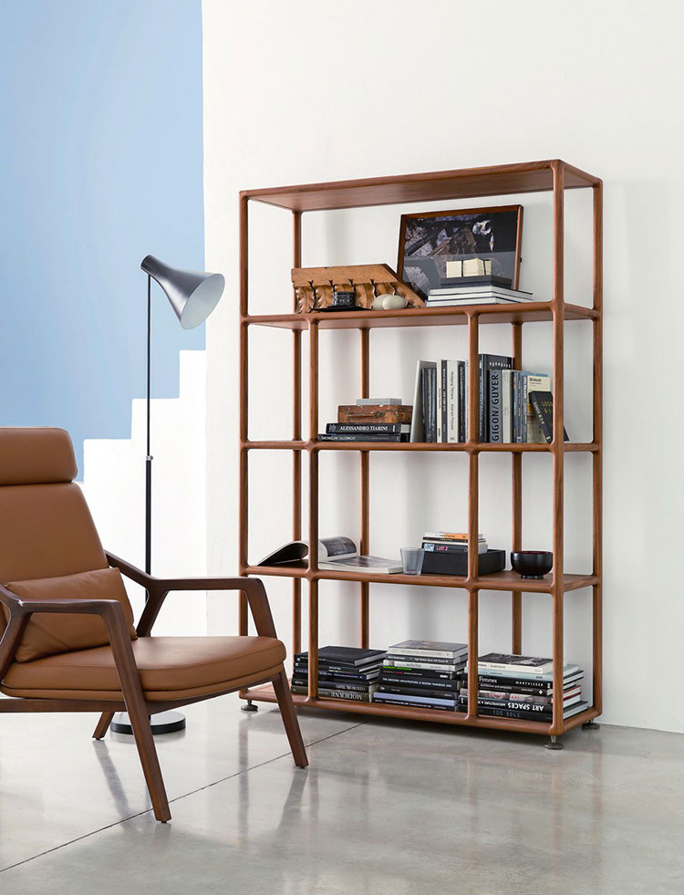 Piccola libreria dal design moderno n.13