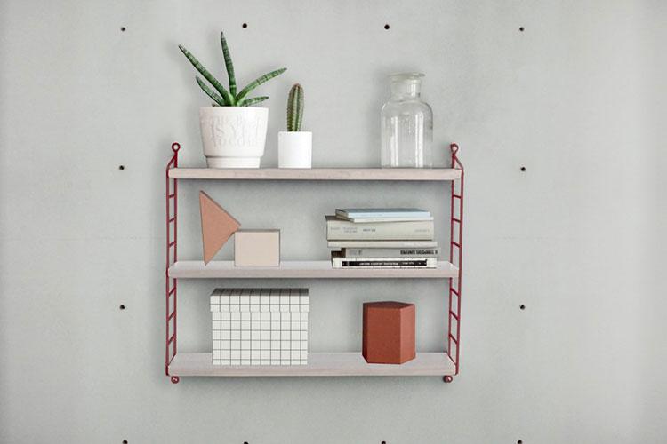Piccola libreria dal design moderno n.14