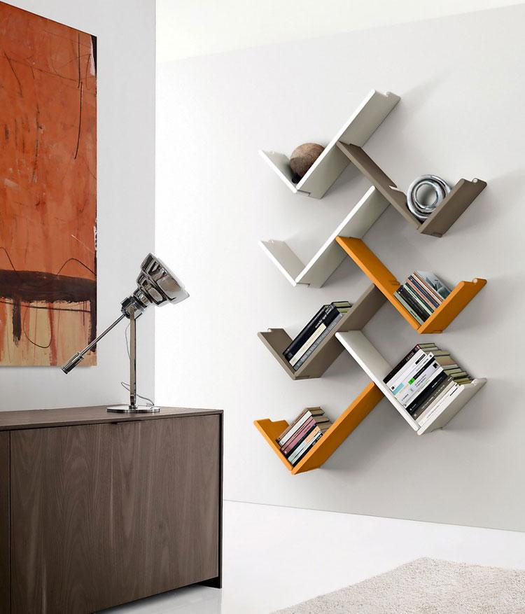 Piccola libreria dal design moderno n.16