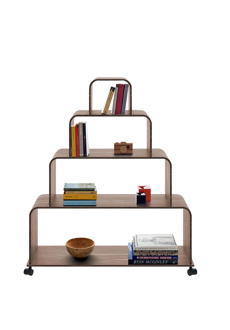Piccola libreria dal design moderno n.17