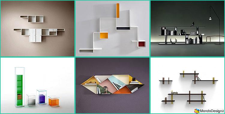 20 piccole librerie dal design moderno - Librerie arredo design ...