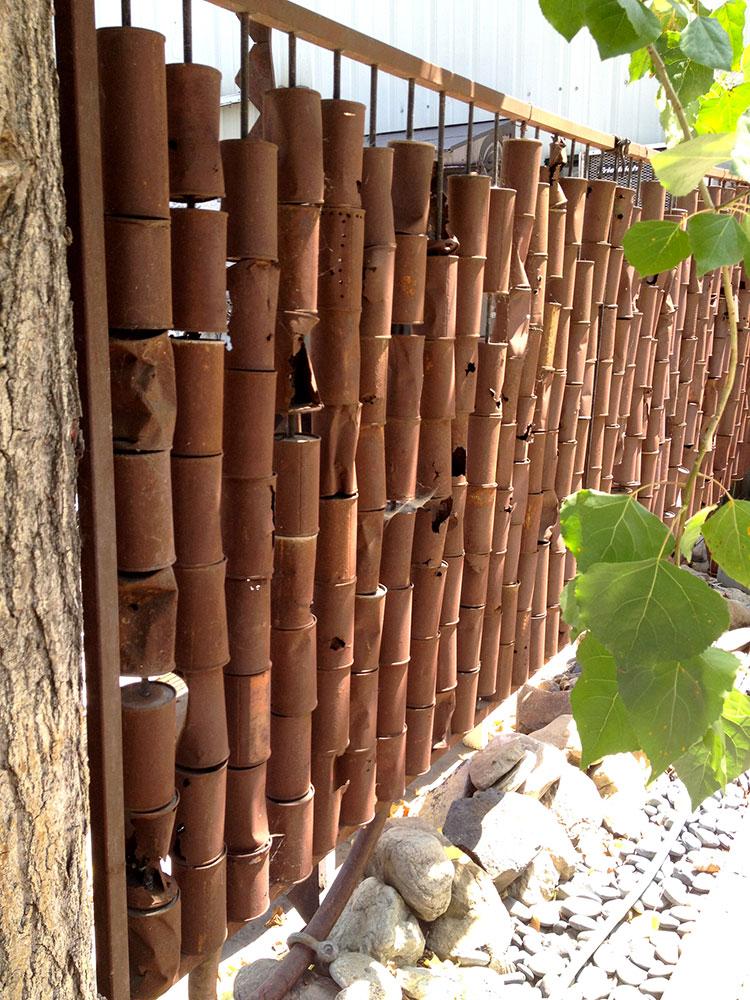Recinzione in bambù di design n.06