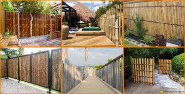 Recinzioni in Bambù: 25 Idee di Design Ecosostenibile