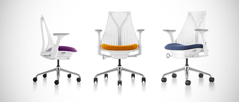 Modello di sedie da ufficio Sayl Chair di Herman Miller