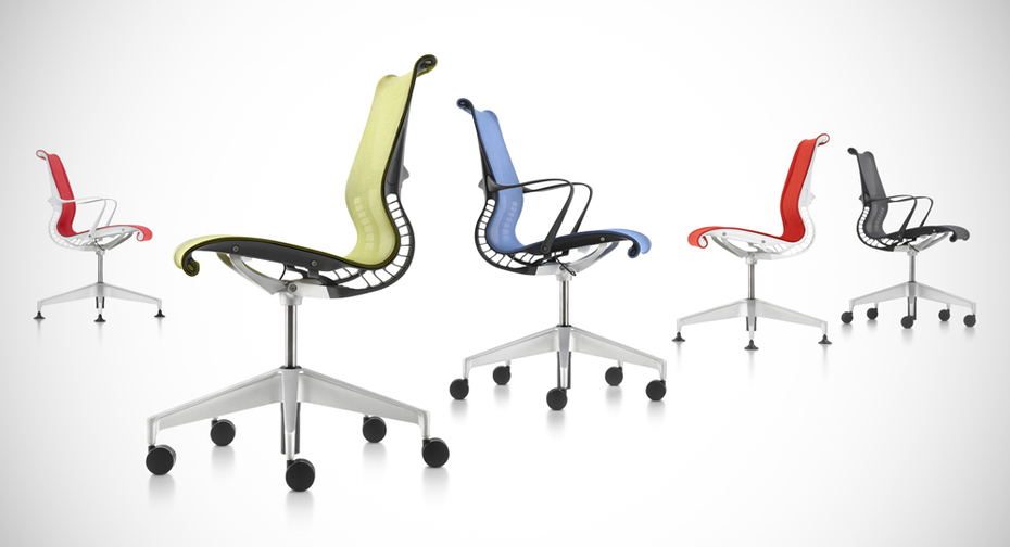 Modello di sedie da ufficio Setu chair di Herman Miller