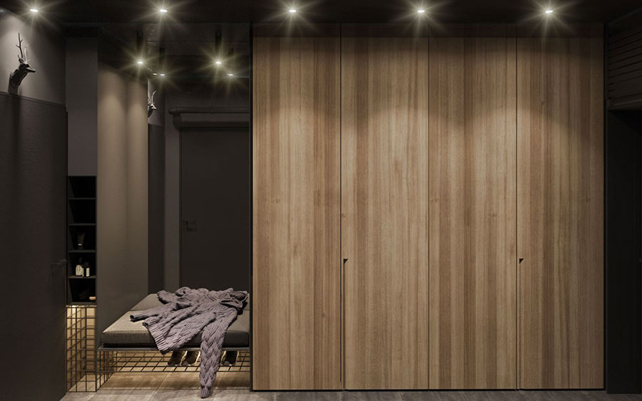 Idee per arredare e decorare le pareti con il grigio tortora n.11