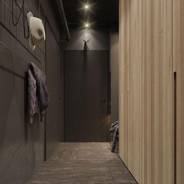 Idee per arredare e decorare le pareti con il grigio tortora n.12