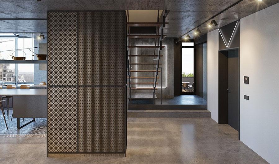 Idee per arredare e decorare le pareti con il grigio tortora n.14