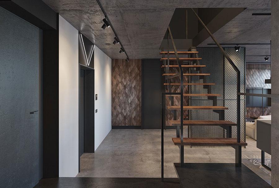 Idee per arredare e decorare le pareti con il grigio tortora n.15