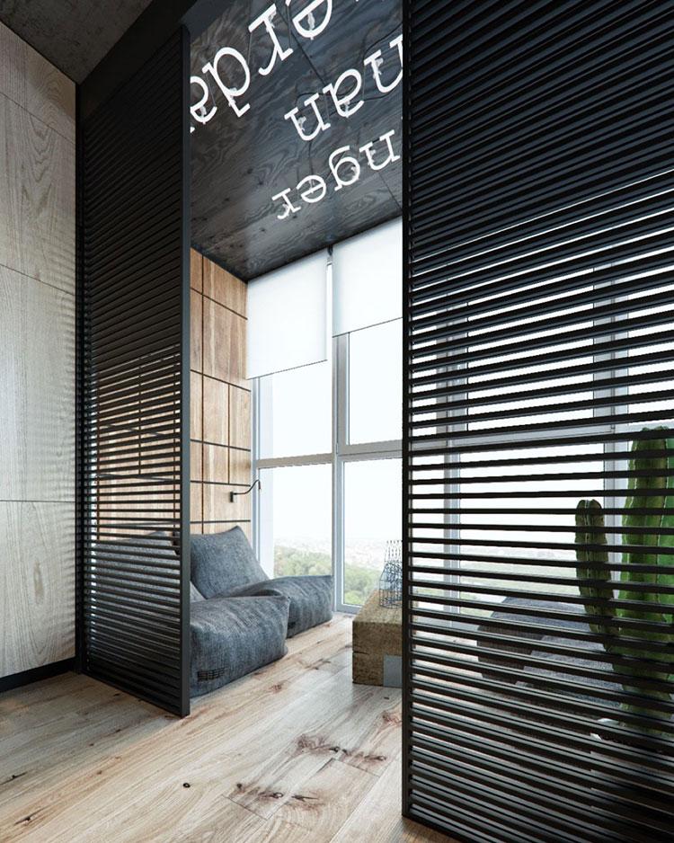 Idee per arredare e decorare le pareti con il grigio tortora n.24
