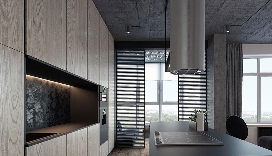 Idee per arredare e decorare le pareti con il grigio tortora n.26