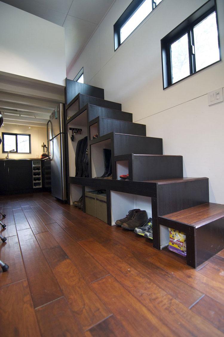 Case mobili su ruote in legno 4 progetti compatti ed for Casa mobile