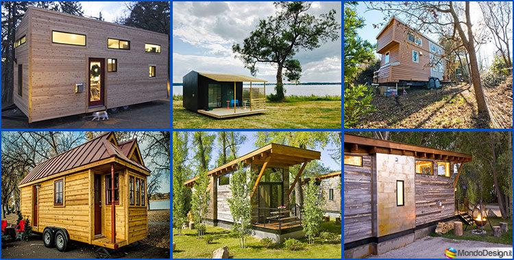 Case mobili su ruote in legno 4 progetti compatti ed for Case in legno senza fondamenta