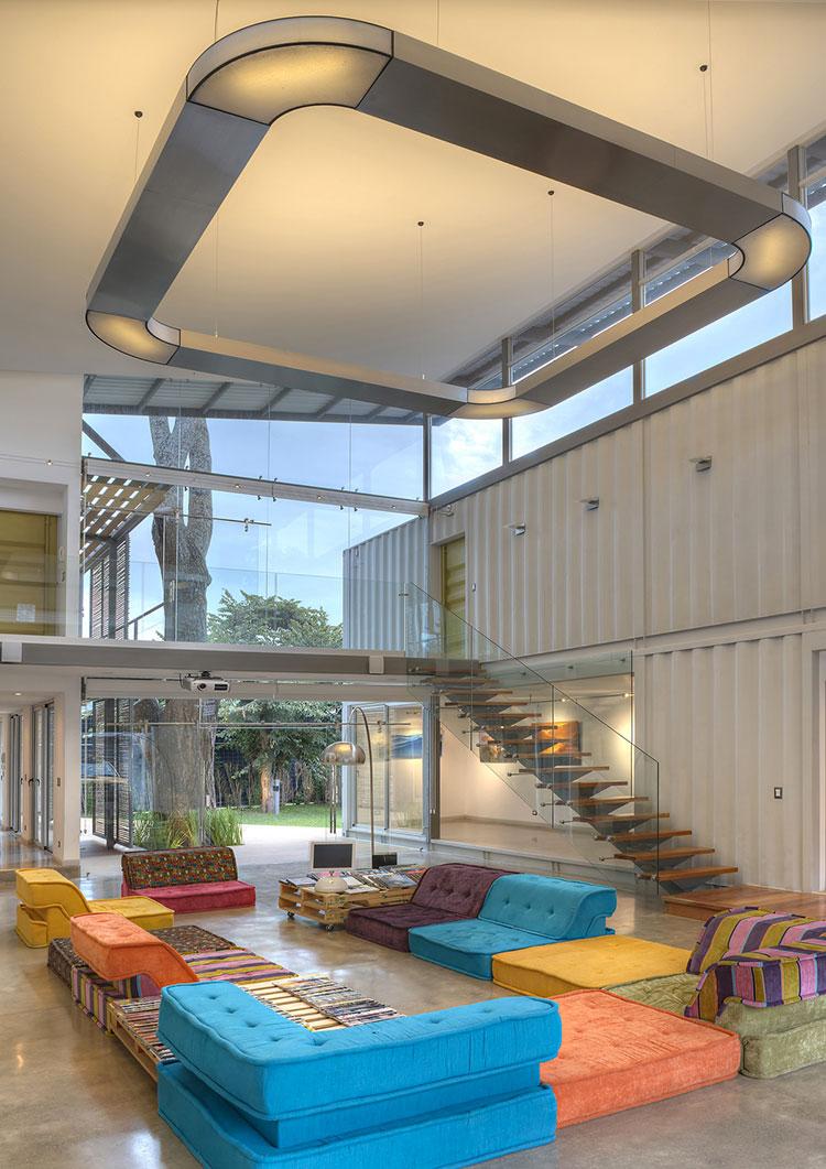 5 progetti per container abitativi con interni favolosi for Interni minimalisti