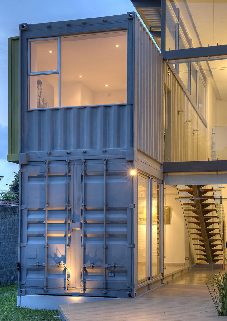 Progetto per container abitativo n.20