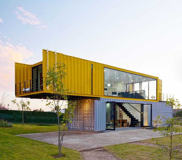 Progetto per container abitativo n.28