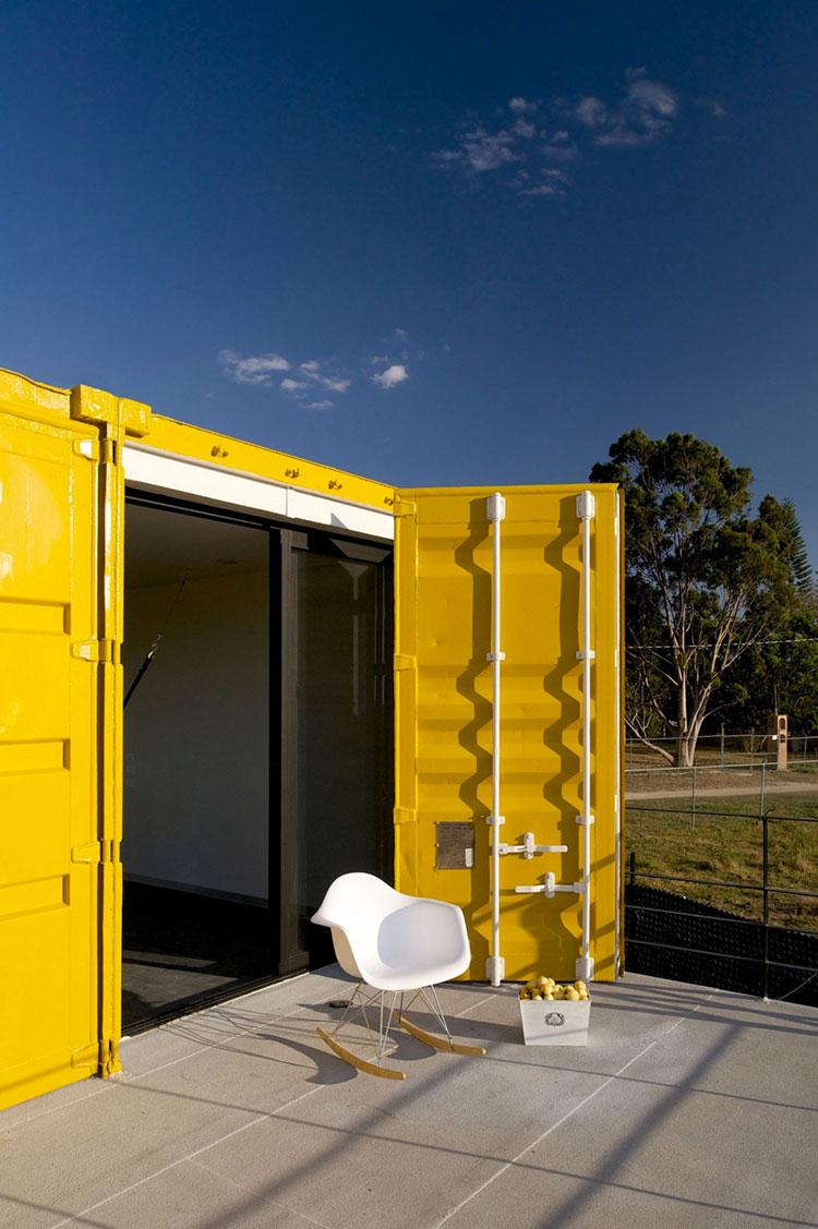 Progetto per container abitativo n.32