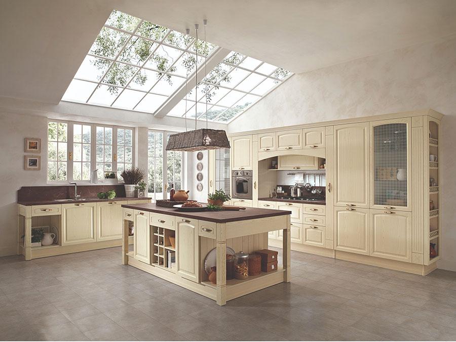 Modello di cucina da sogno classica n.02