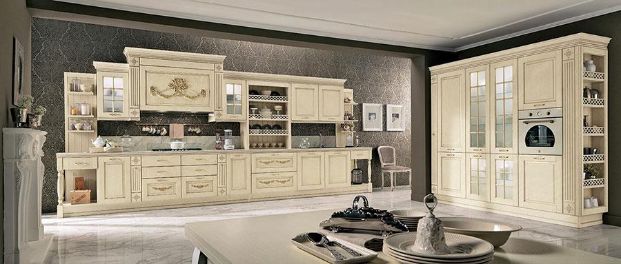 Modello di cucina da sogno classica n.03