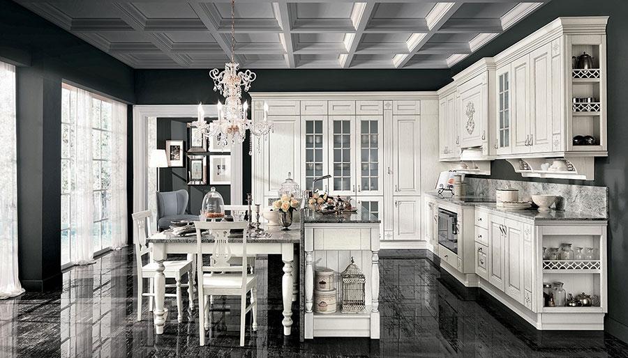 Modello di cucina da sogno classica n.04