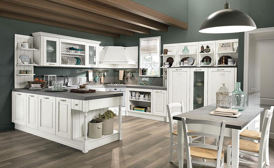Modello di cucina da sogno classica n.05