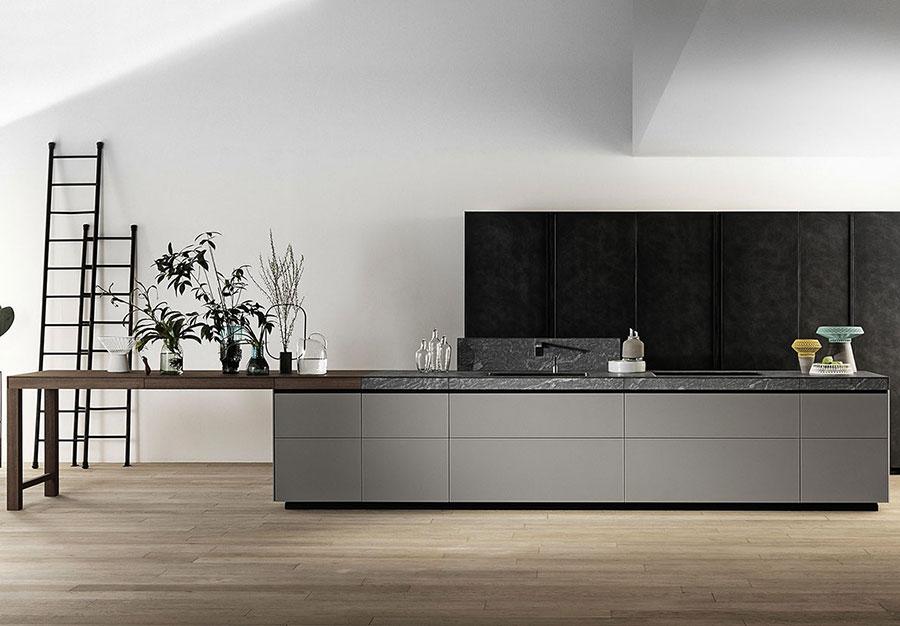Modello di cucina da sogno moderna n.02
