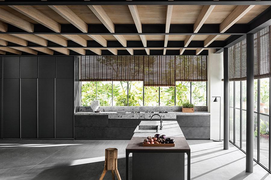 Modello di cucina da sogno moderna n.03