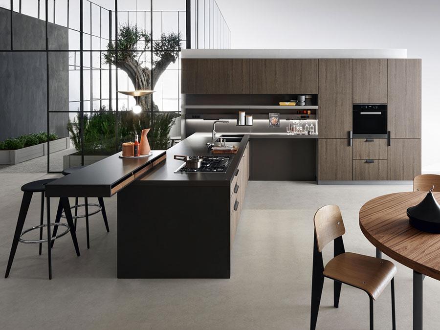 Modello di cucina da sogno moderna n.05