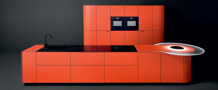 Modello di cucina da sogno moderna n.06
