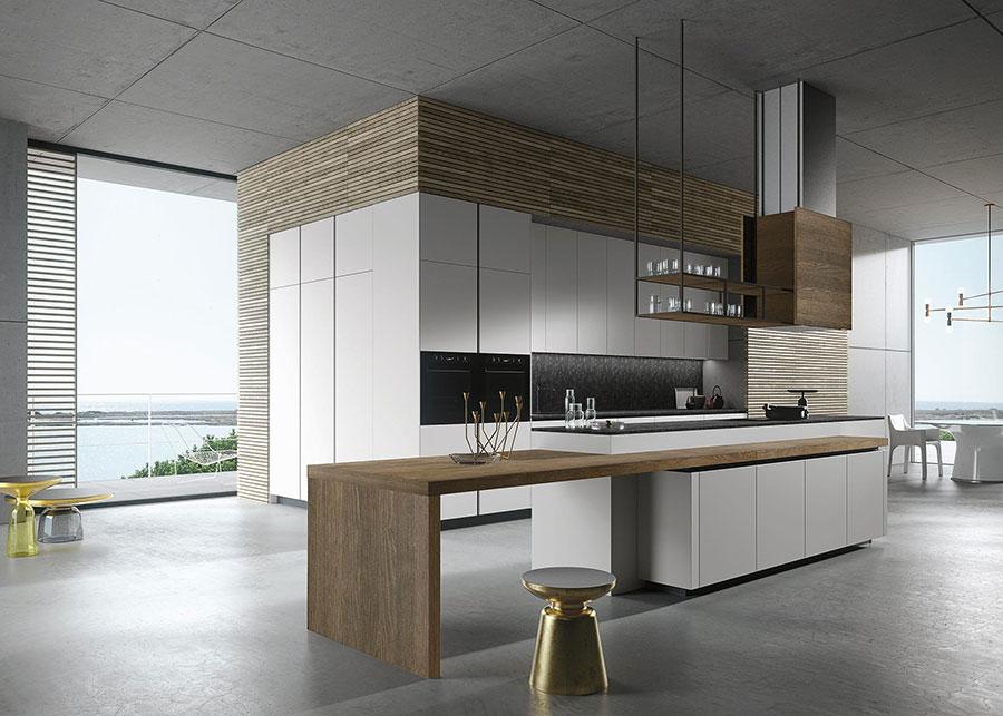 Modello di cucina da sogno moderna n.09