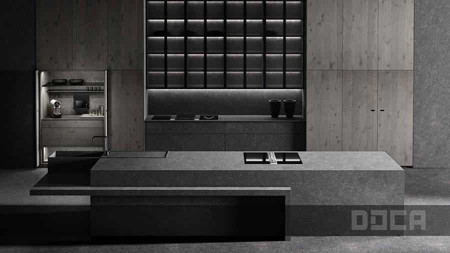 Modello di cucina da sogno moderna n.12