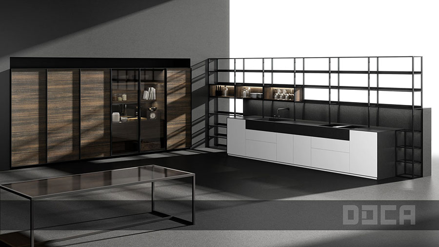 Modello di cucina da sogno moderna n.13