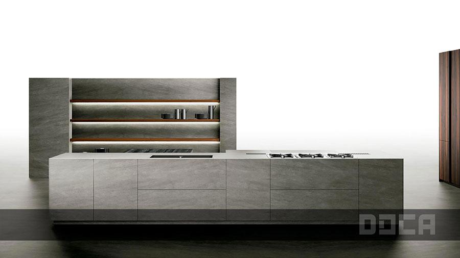 Modello di cucina da sogno moderna n.14