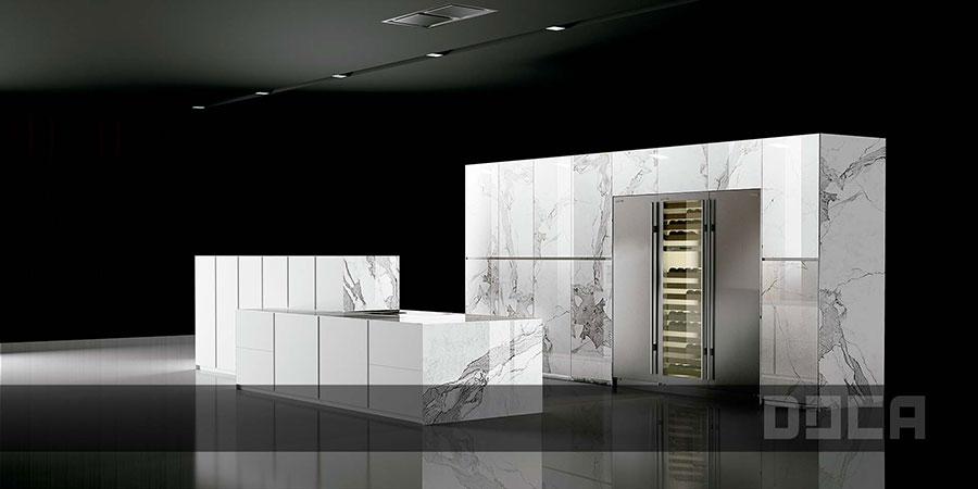 Modello di cucina da sogno moderna n.17