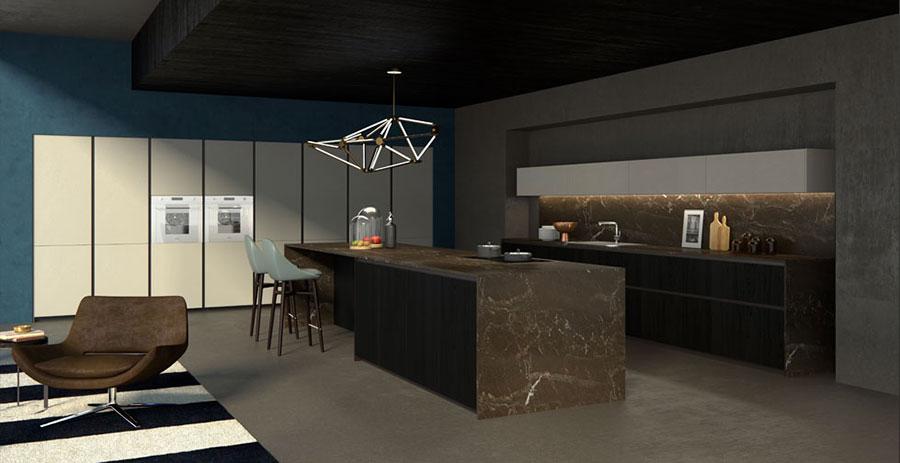 Modello di cucina da sogno moderna n.21