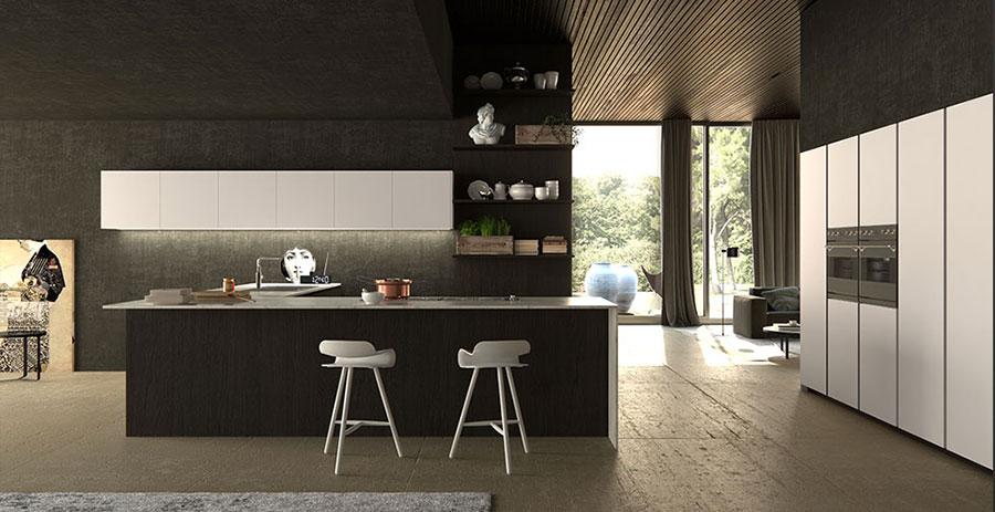 Modello di cucina da sogno moderna n.22