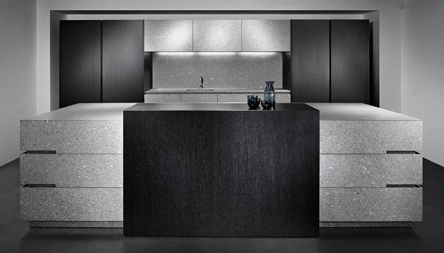 Modello di cucina da sogno moderna n.24