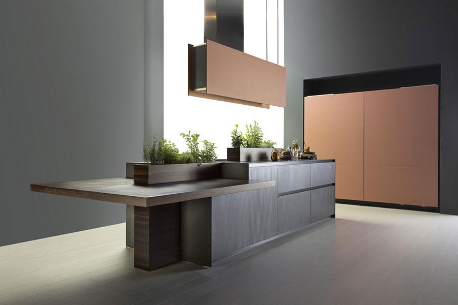 Modello di cucina da sogno moderna n.29
