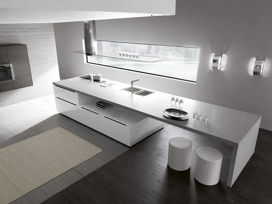 Modello di cucina da sogno moderna n.30