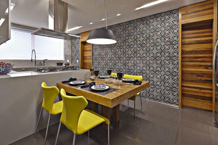 Idea per decorare le pareti della cucina n.01