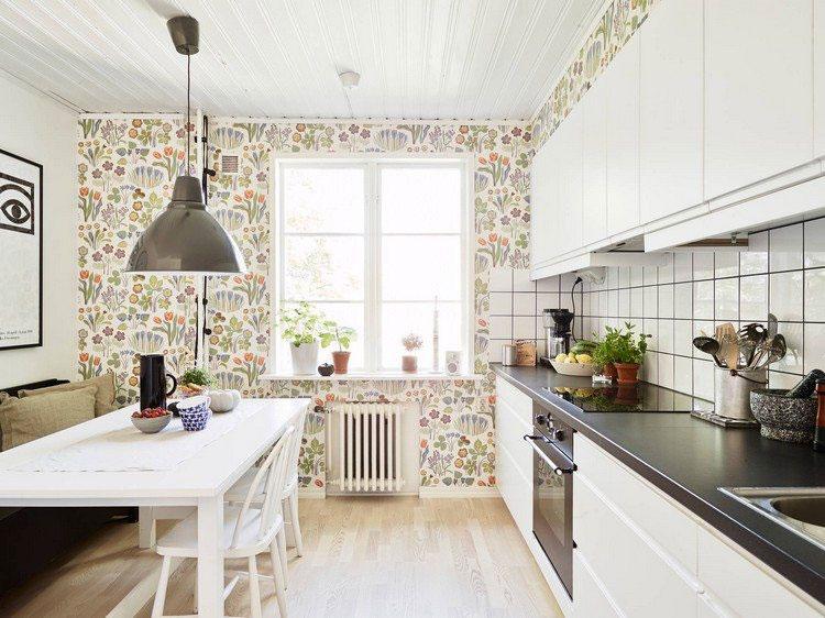 Idea per decorare le pareti della cucina n.08
